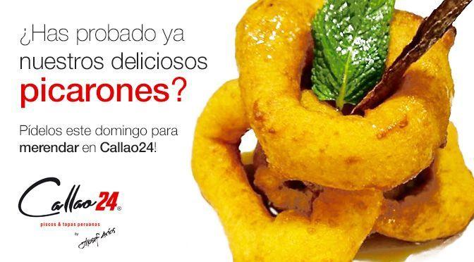 Picarones peruanos en Callao24. Madrid