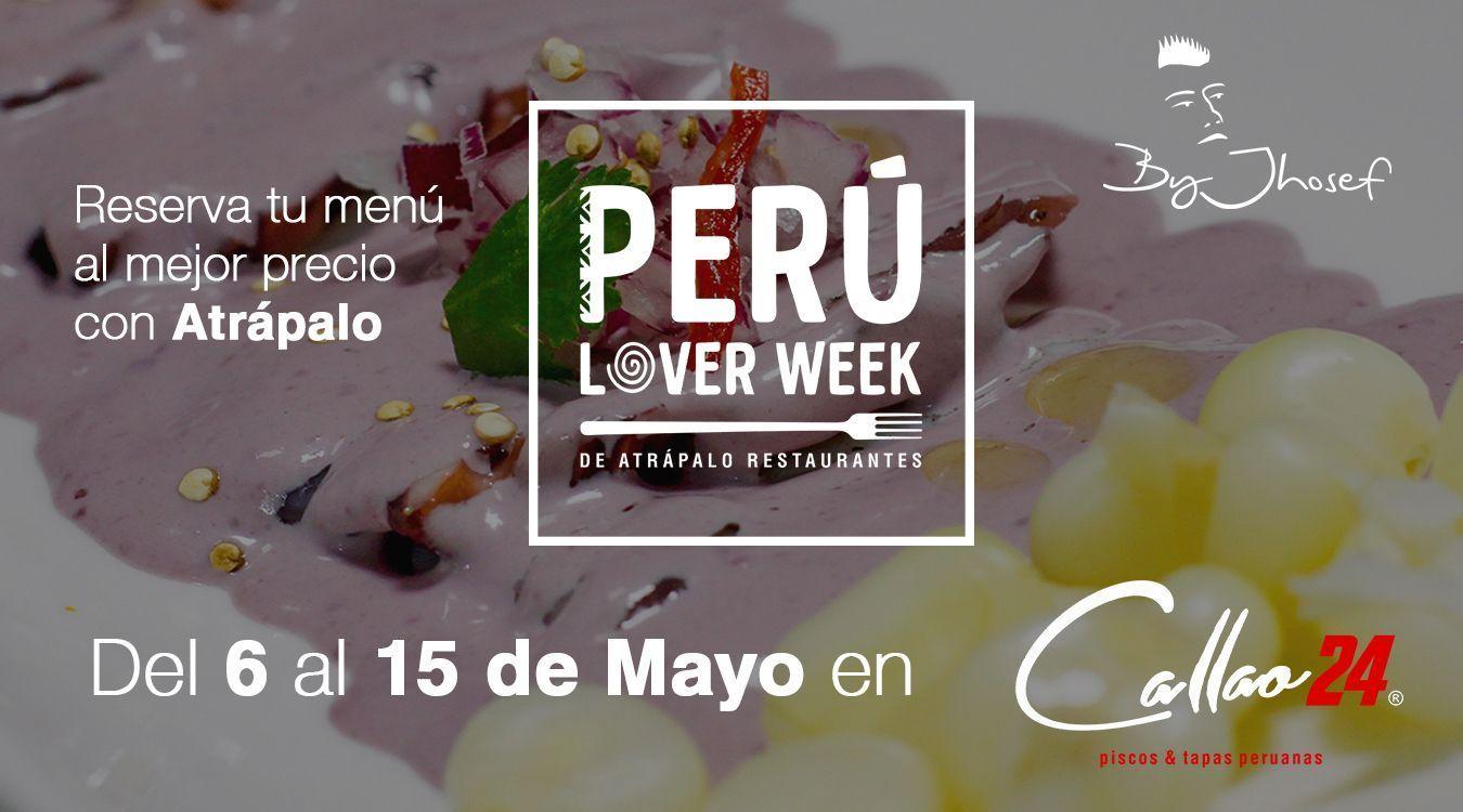 Ven a probar nuestro menú de la #PerúLoverWeek en Madrid