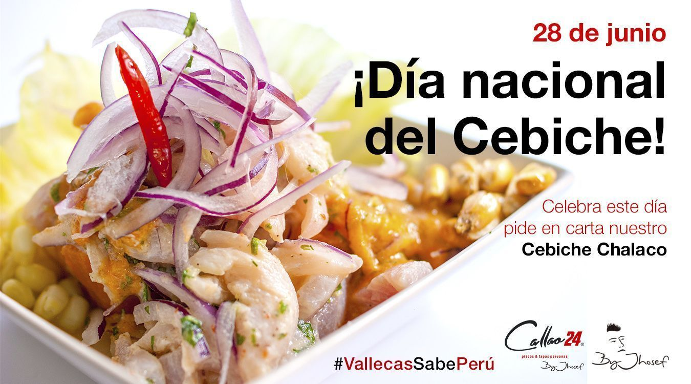 ¡Feliz día nacional del Cebiche! 28 de junio