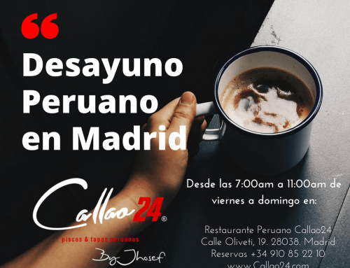Más Perú imposible ¡Llega el desayuno peruano a Madrid!