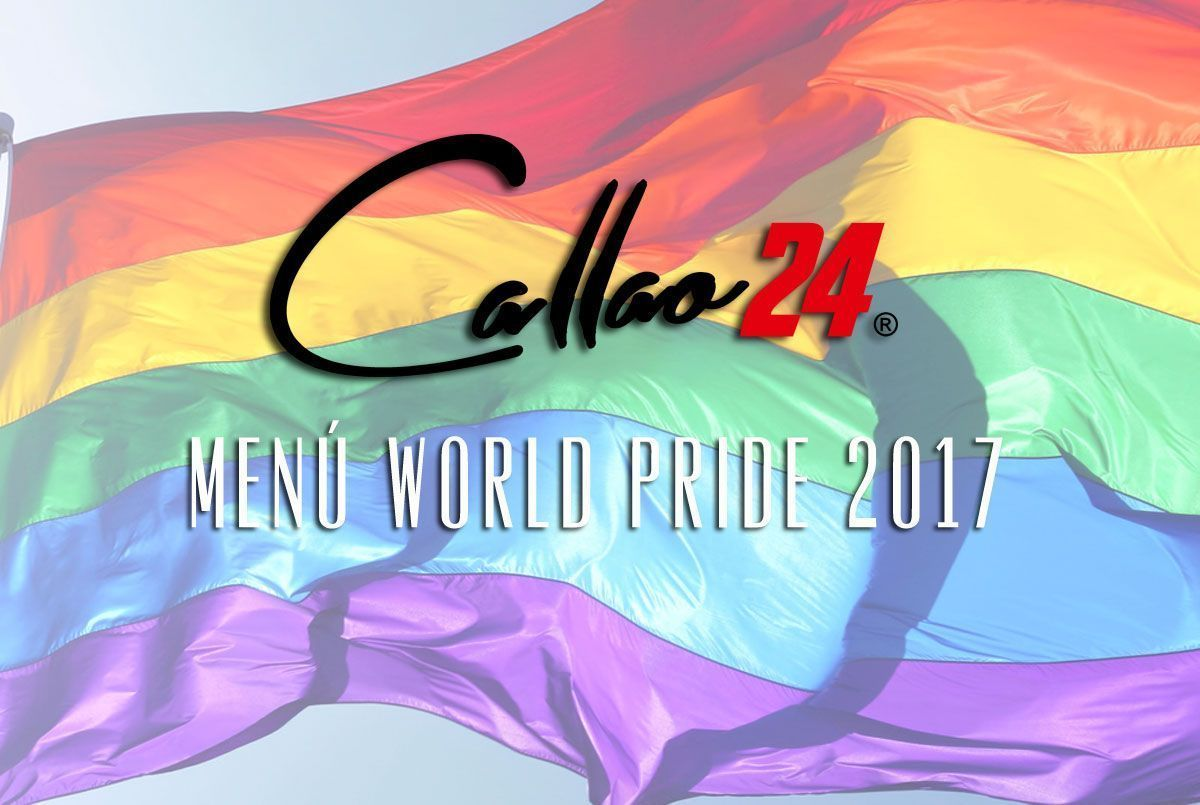 Menú Worl Pride 2017 en Callao24 Madrid