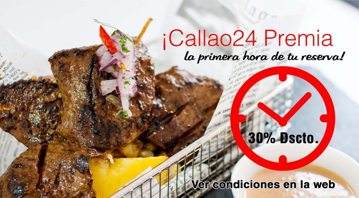 Callao24 descuento primera hora 2018