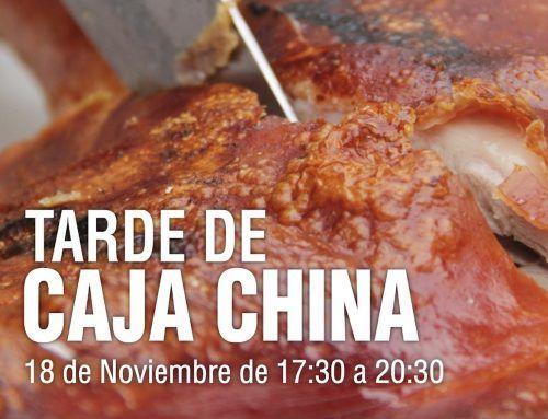 Evento «Tarde Caja China» 18 de Noviembre