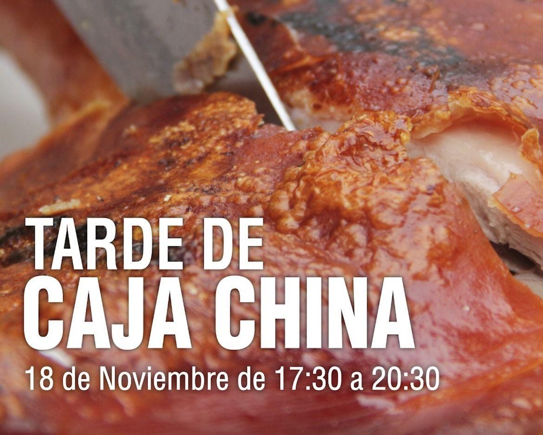 Evento Tarde Caja China - Chancho Crujiente con Carapulcra Huaralina