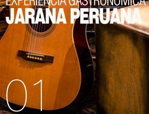 Experiencia Gastronómica JARANA PERUANA 1 DE MARZO 2019