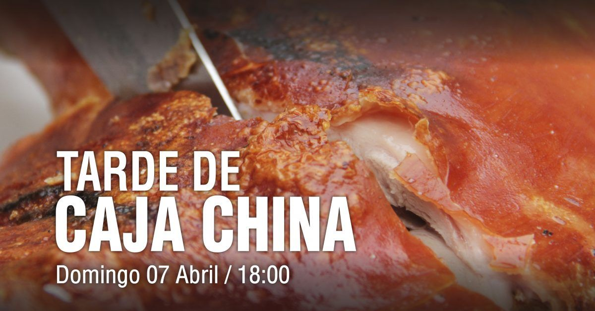 Evento «Tarde Caja China» 7 de abril