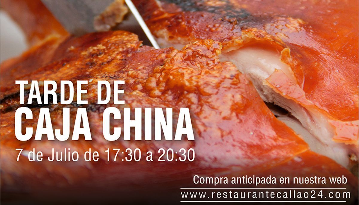 Evento «Tarde Caja China» 7 de julio